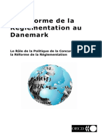 La Réforme de La Réglementation Au Danemark