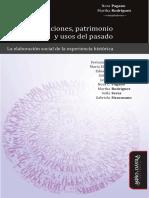 Conmemoraciones, Patrimonio y Usos Del Pasado - Nora Pagano, Martha Rodríguez (Comps.)