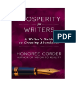 Prosperity for Writers, Honoree Corder