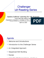 Challenger Adult Reading Series