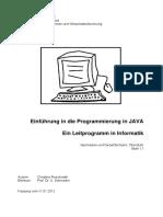 Java Programmierung Leitprogramm