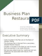 Business Plan - Restuarant -2