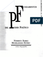 Origenes y Fundamentos Del Poder Politico