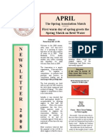 AMFC newsletter - April