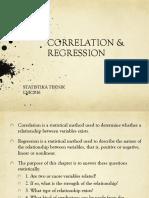 Modul 5 Correlation Regression