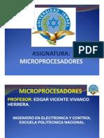 Microprocesadores 1 Clase