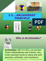 3 5 Archimedes Principle