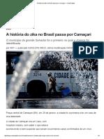 A História Do Zika No Brasil Passa Por Camaçari — CartaCapital