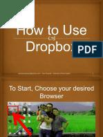 RachelMae_Buiza_How to Use Dropbox