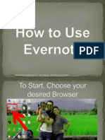RachelMae_Buiza_How to Use Evernote