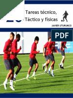 20 Tareas Tecnico,Tactico y Fisicas