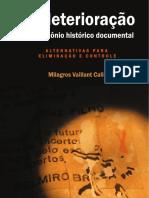 Biodeterioração do Patrimônio Histórico Documental - Alternativas para Eliminação e Controle