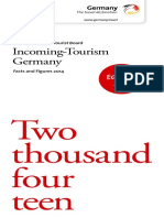 GNTB Incoming Tourism Germany 2015