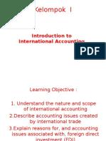 Materi Kelopmpok Presentasi Akuntnasi Internasional KELAS B