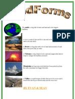 Pre-Assessment of Landforms