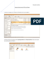 rapport partage dossier  ubuntu