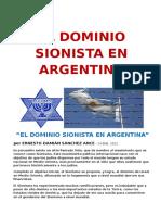 El Dominio Sionista en Argentina