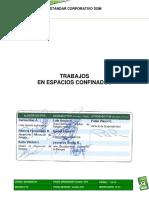SGI-E00001-01 - Estandar Corporativo Trabajos en Espacios Confinados