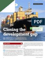 Closing Development Gap