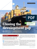 Closing Development Gap