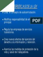 Ley Subcontratción en Chile