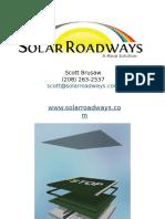 Solar Roadways SN9 Brusaw