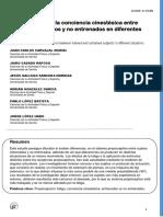 Comparación de La Conciencia Cinestésica (v) (2)