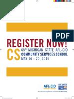 65th Michigan AFL-CIO Community Services School