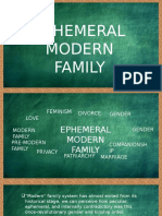 Ephemeral Modern Family