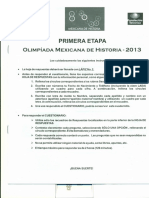Historia 1era Etapa 2013