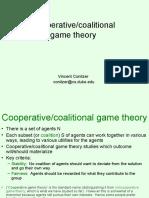 Cgtmd Coalitional Games