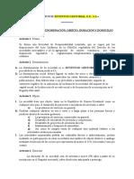 ESTATUTOS J.gestorial.g.e,s.l