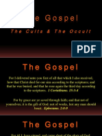 The Gospel - The Cults & The Occult - Jehovah's WItnesses