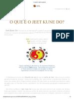 o Que é o Jeet Kune Do