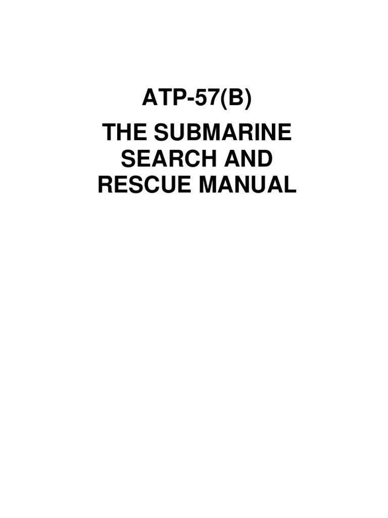 atp 57 b search and rescue submarines
