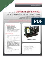 08561 Gamma Open Gensets TDS