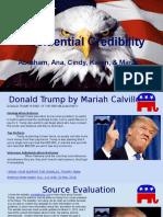 presidential credibility - mariah cindy karen ana abraham