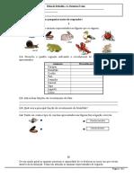 Animais-revestimento Locomoção e Alimentação