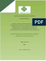 Reglamento Interno y Filosofia Empresarial