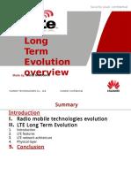 LTE Overview(MARRAHA Mehdi)