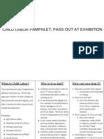 child labor pamphlet - google docs