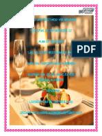 proyecto restaurante
