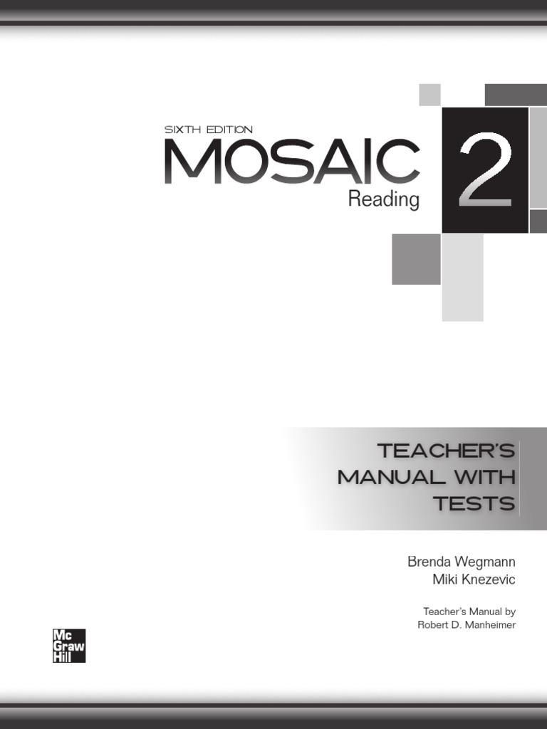Mosaic 6 Ed Level 2 Reading | Reading Comprehension