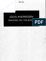 Andriessen Louis - Dancing on the Bones Tanz
