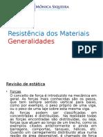 GENERALIDADES   RESISTÊNCIA DOS MATERIAS