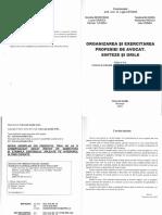 Ligia Catuna - Organizarea Si Exercitarea Profesiei de Avocat - Sinteze Si Grile 2015