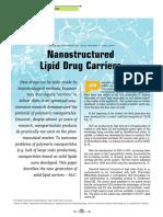R2- Nanostuctured Lipid Drug Carrier