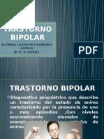 TRASTORNO BIPOLAR Exponer Lilian Jimenez