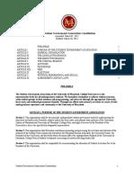 SGA Constitution