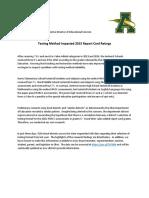 Amherst Schools says testing method impacted 2015 report card ratings